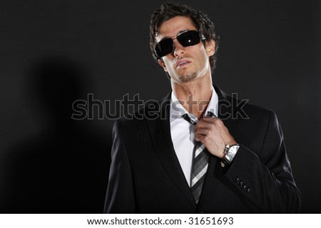 Well Dressed Man in Suit and Tie