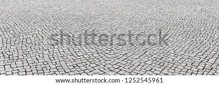 Well maintained rustic pavement