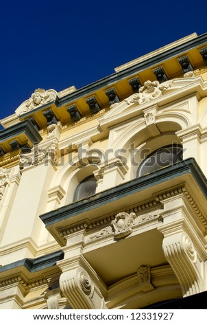 Wellington, Architecture Detail, New Zealand