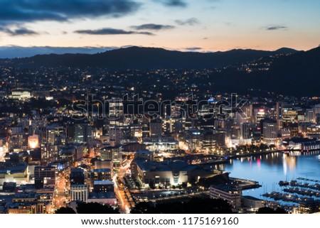 Wellington Central Business District #1175169160