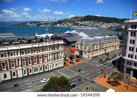 Wellington city, capital of New Zealand