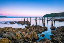 Wellington - New Zealand Wellington New Zealand Beach Scenes Long Exposure