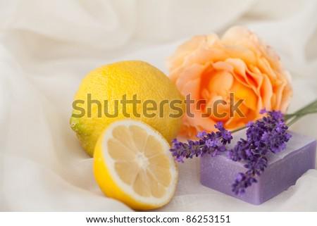 Wellness aromatherapy background