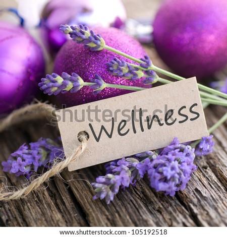 Wellness, lavender