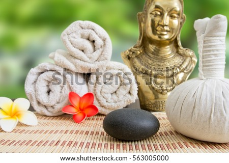 wellness spa massage still life #563005000
