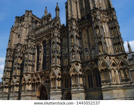Wells Cathedral, Wells, Somerset, England - The magnificence of English Gothic