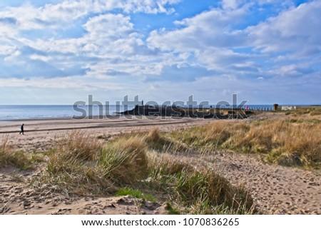 west coast of Scotland Ayr-Pier