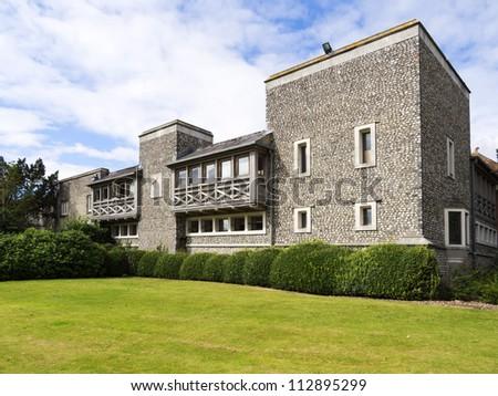 west dean gardens and estate, west sussex, sussex, england uk.