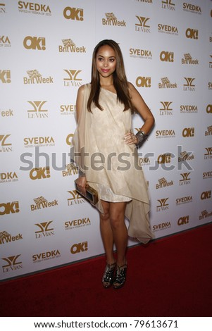 WEST HOLLYWOOD - FEB 25: Amber Stevens at the OK! Magazine and BritWeek celebrate the Oscars party held at the London Hotel in West Hollywood, California on February 25, 2011