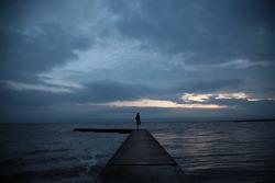 west kirby, merseyside marine lake in unitedkingdom