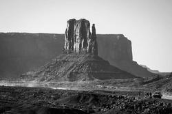 West Mitten Butte, Monument Valley, Arizona, Navajo Nation