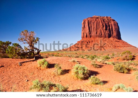 West Mitten Butte, Monument Valley, Utah