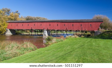 west montrose covered bridge ...