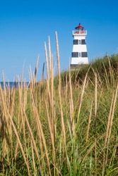 West Point Lighthouse in Prince Edward Island Canada