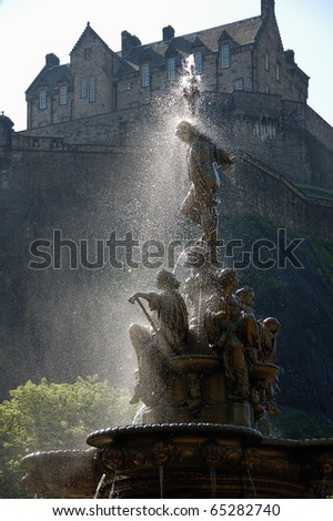 West Princes St Gardens - Ross Fountain