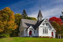 West Stockbridge Congretional Church,  West Stockbridge, Massachusetts
