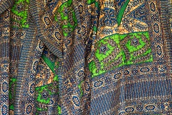 Western African colorful fabric patten