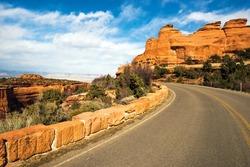 Western Colorado Landscape. Colorado Monument Road Trip. Grand Junction, Colorado, United States.