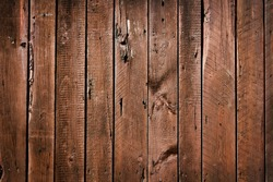 western style brown  old wood background wall