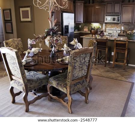 Western Style Kitchen Area Stock Photo 2548777 : Shutterstock