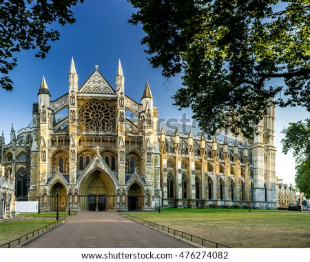Photo of  Westminster Abbey in London