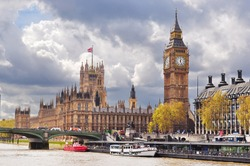 Westminster Palace (Houses of Parliament) and Big Ben, London, United Kingdom of Great Britain and Northern Ireland
