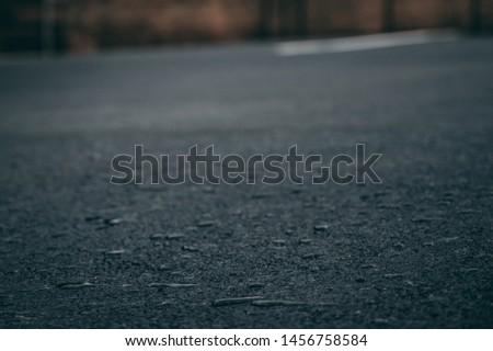 wet asphalt in a storm asphalt background  #1456758584