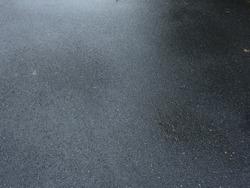 wet asphalt road after rain