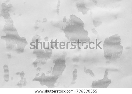 wet old white paper texture background #796390555