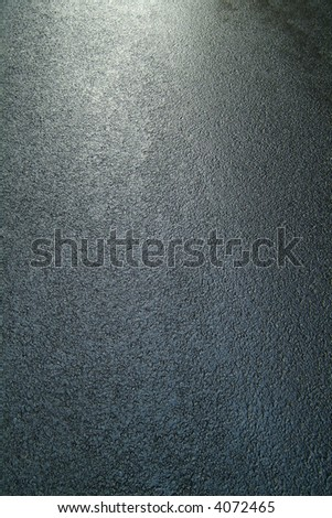 wet street - stock photo