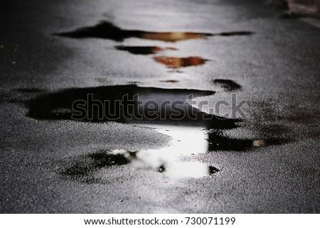 wet street #730071199