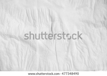 wet texture of white tissue paper #477348490