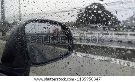 Wet wet wet in Rainy day