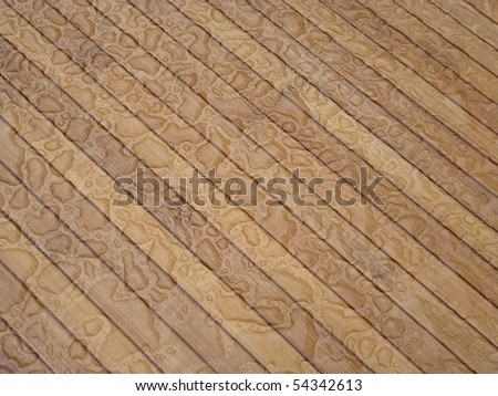 wet wood floor / Terrace