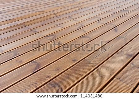 wet wood terrace  floor  background