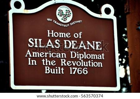 silas deane death