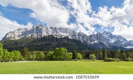 Wettersteingebirge Garmisch-Partenkirchen, Bavaria Germany. #1087010699