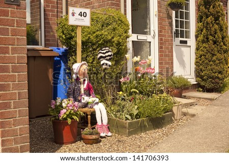 Wetwang Scarecrow Festival, held ever year. 2013 was the year for the theme of nursery rhymes.