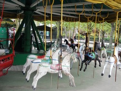 what comes around goes around vintage carrousel horses