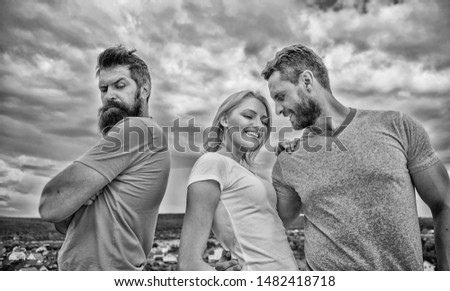 What do when you feel rejected. Couple and rejected partner. How get over breakup for guys. Ruined relationships. How deal with offended feelings. Girl stand between two men. Psychology of breakup. #1482418718