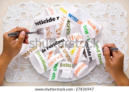 http://image.shutterstock.com/display_pic_with_logo/169600/169600,1238650859,49/stock-photo-what-most-people-eat-daily-nowadays-using-words-illustration-that-printed-on-the-paper-and-arranged-27836947.jpg