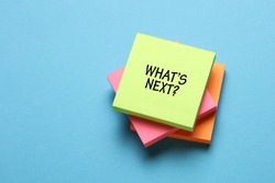 What's Next?, Business Concept