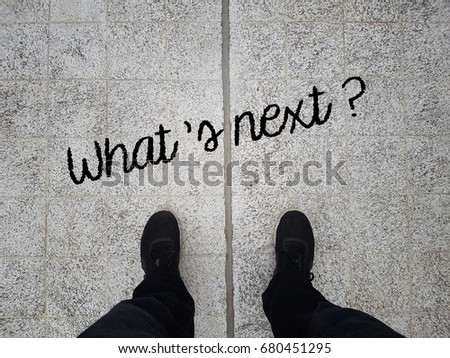 What's next  on asphalt ground