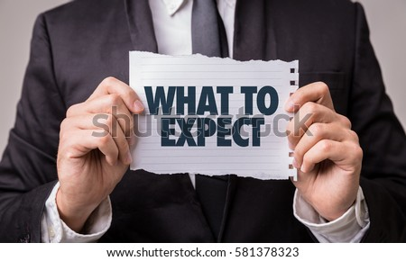 What to Expect Stock photo ©