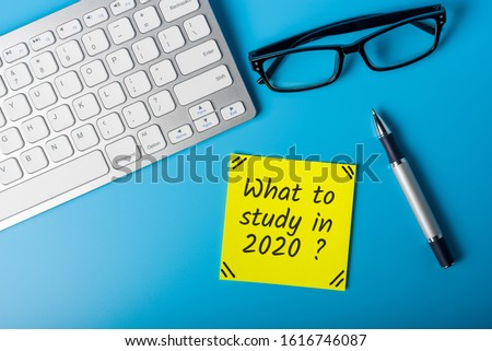 What to study in 202 year. Education 2020 Concept of world business, abroad international educational, Back to School