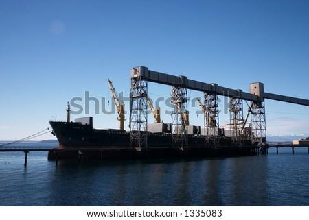 Wheat Cargo - stock photo