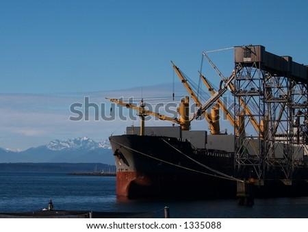 Wheat Cargo Loading