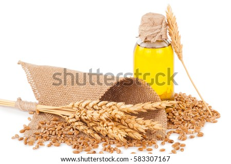 wheat germ oil Stock photo ©