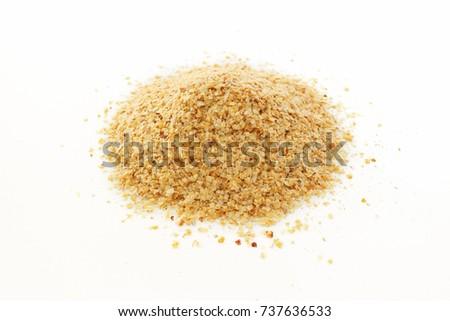 Wheat germ on white background Stock photo ©
