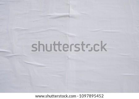 wheat paste poster texture